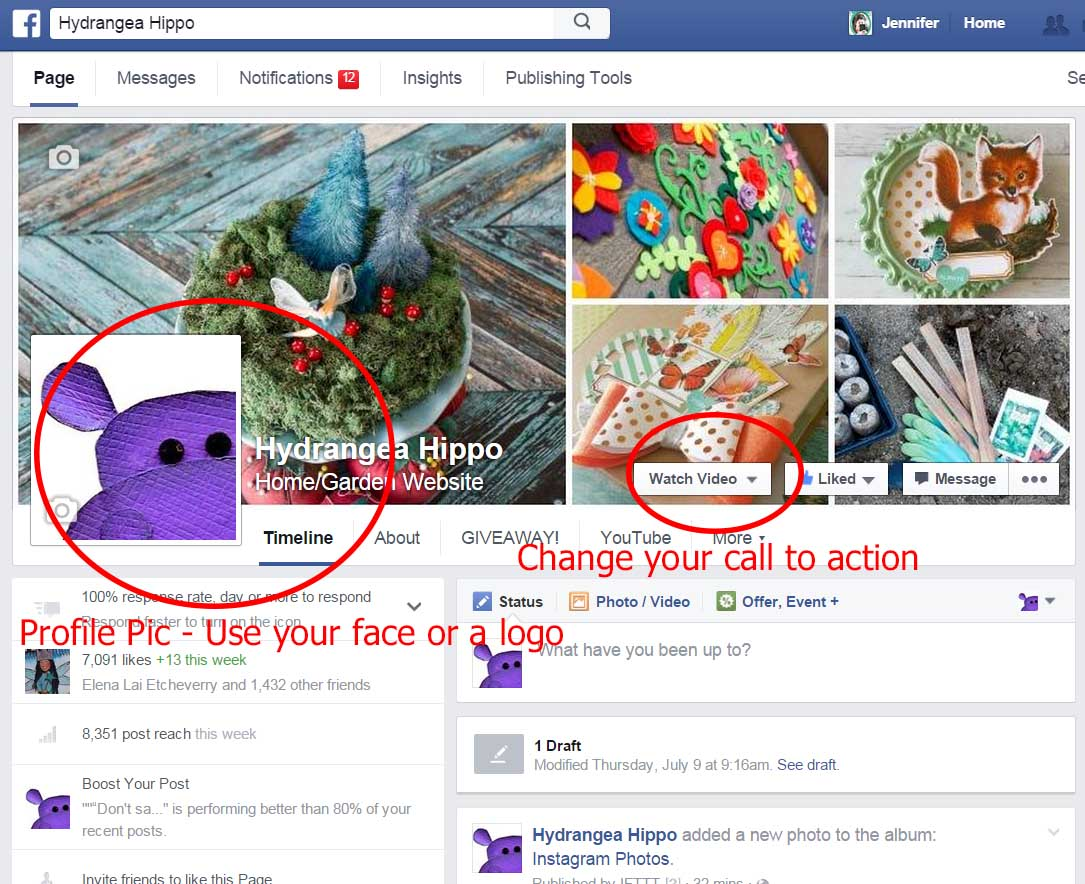 Fverr FB Page Analysis sample - Smart Creative Social