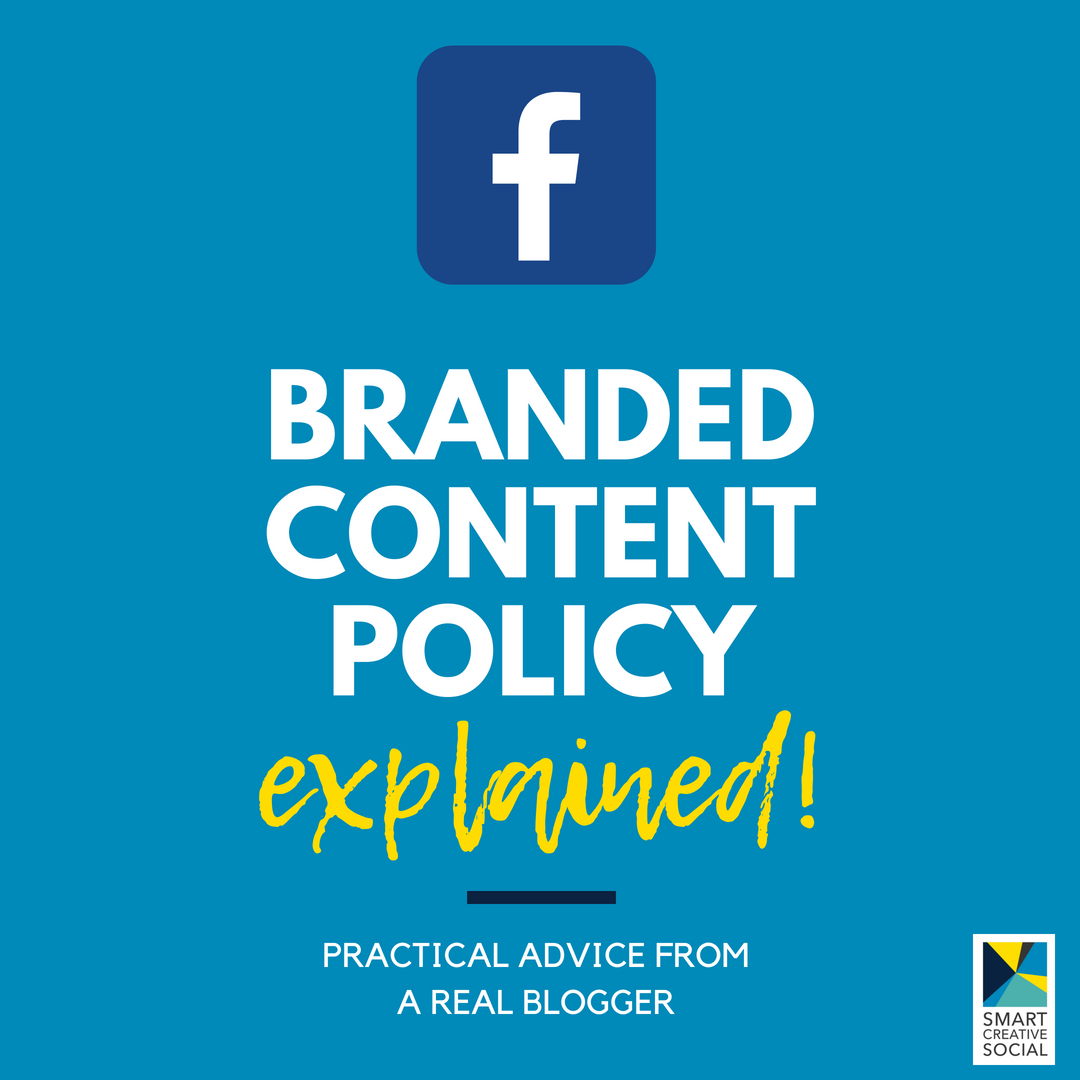 graphic - Facebook Branded Content Policy explained