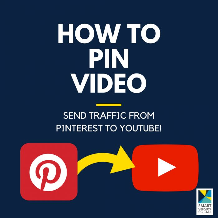 How to pin video to send traffic from Pinterest to YouTube